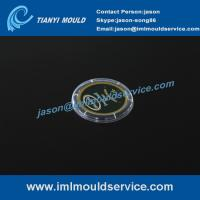 Buy cheap 4 cavities IML thin wall injection mold, Precise plastic IML thin wall mold, IML moulding product