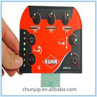 Buy cheap pcb keyboard membrane switch with leds product