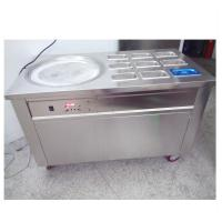 Buy cheap Easy Operation Thailand Ice Cream Rolls Machine For Restaurant / Coffee Shop product