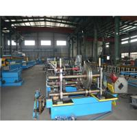 Buy cheap Perforated Cable Tray Manufacturing Machine , Roll Forming Equipment Low Noise product