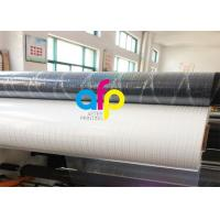 Buy cheap Transparent Holographic Bopp Lamination Film 26micron Standard / Customized Pattern product