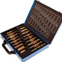 Buy cheap 200pcs Titanium Nitride Twist HSS Drill Bit Sets with Carry Case High Precision and High Speed product