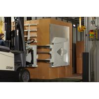 Forklift carton clamps