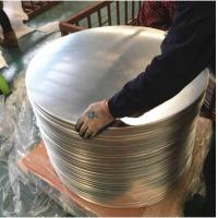 Buy cheap Chemical / Food  Silver AA3003 Aluminum Disc , Aluminum Wafer CC  DC Material product