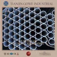 Buy cheap HDG hot dipped galvanized steel pipe / scaffold pipe for scaffold stair tower product