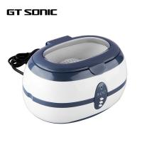 China ABS Housing Automotive Ultrasonic Cleaner 600ml Capacity 35W For Little Parts on sale