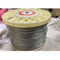 Buy cheap Multi Strands Nickel Wire Ni 212 Pure Nickel Wire Bright Status For Ceramic Pad Heater from Wholesalers