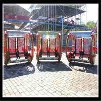 Buy cheap canton fair play Crazy balance happy car card system arcade outdoor fitness equipment ride product