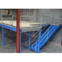 China Steel Q235 / Q345 Industrial Mezzanine Floors Two Layer For Warehouse on sale