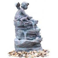 Buy cheap Smarten Angel Copper Water Fountains , Indoor Floor Water Fountains For House product