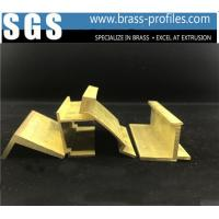 Buy cheap Expert Shining Golden Windows And Doors Copper Alloy Profiles product