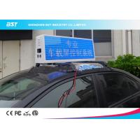 Buy cheap RGB Video Taxi Top Led Display Advertising Light Box With 4g / Wifi Control product