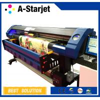Buy cheap Eco Solvent UV Inkjet Printer Cmyk + White Ink Large Format Printing Machine product