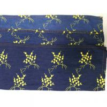 Buy cheap 100% Cotton yellow circles pattern embroidery process Denim fabric product