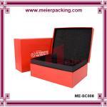 Buy cheap Custom Cardboard Clamshell Paper Jewelry  Set Gift Box/Rectangular Gift Clamshell Box ME-SC008 product