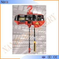 Small Capacity Electric Chain Hoist With Pendent Control Keypad