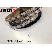 Buy cheap Commercial 5050 Led Strip Lights / Waterproof Color Changing Led Strip Lights product