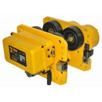 China Simple Structure Electric Trolley 0.5 Ton To 5 Ton , Lifting Equipment Parts Apply For Hoists Or Overhead Crane on sale