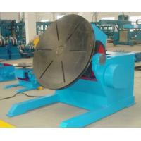 Buy cheap 1000KG Rotary Tilting Welding Positioner Auxiliary Welding Equipment Danfoss VFD Change Speed product