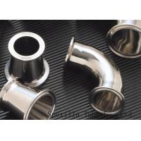 """Buy cheap Clamped Sanitary Valves And Fittings , Stainless Steel Valves And Fittings 1""""x1.65mm product"""