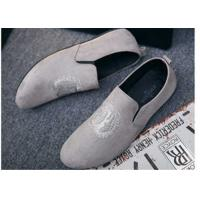 Buy cheap Custom Made Girl Velvet Loafers Slip on Style Fringe Decoration Suede Leather product