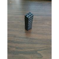 block 16x6x6 magnetic clasp with black epoxy plating