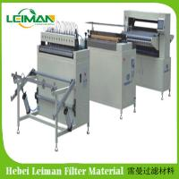 Buy cheap Truck air filter making machine knife type pleating machine 1050mm width product
