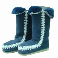 China Mon shoes Mon boots snow boots fur boots fashionable boots on sale