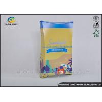 Buy cheap Bright Coloured Cosmetic Packaging Boxes For Cosmetic / Mask Product product