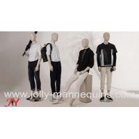 Buy cheap Jolly mannequins-2019 best selling abstract male store window use mannequins collection Bieber product