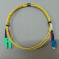 Buy cheap 2.0mm / 3.0mm Fiber Optic Patch Cord LC SC Singlemode Dimplex With High Return Loss product