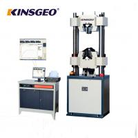 Buy cheap 80mm/min Electro Hydraulic Servo Function Universal Testing MachineS Computerize from wholesalers