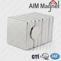 "Buy cheap N42 1 "" x 1 "" x 1/8 "" permanent neodymium magnet product"
