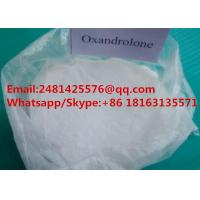 China High 99% Purity Muscle Growth Anabolic Steroids Oxandrolone / Anavar Powder CAS 53-39-4 on sale