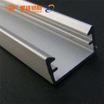 Buy cheap double side aluminum frame led custom light aluminum extrusion profile for led advertising edgelit light box product