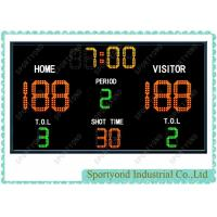 Buy cheap Wireless Digital Basketball Scoreboards with shot clock and time display product
