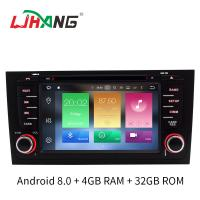 Buy cheap Android 8.0 Car Audi Car DVD Player Canbus Gps Rear Camera Stereo For A6 product