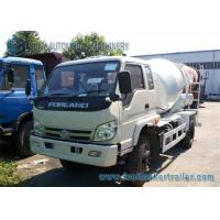 Buy cheap Right Hand Drive Forland 4 M3 cement mixer lorry 130 Hp Euro 3 Engine product