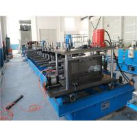 Buy cheap Durable Trunking Cable Tray Roll Forming Machine , Metal Rolling Equipment product