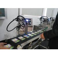 Buy cheap Widespread Use Small Character Inkjet Printer , Stable Code Printing Machine Good Performance from wholesalers