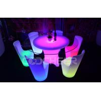 China Durable IP 54 16 RGB Led Bar Chair Club Furniture Easy To Clean on sale