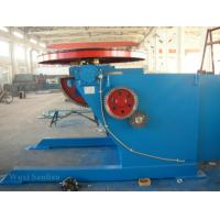 Buy cheap Motorized Rotary Welding Positioner , Fixed Welding Turn Table 0 - 120°Tilting product