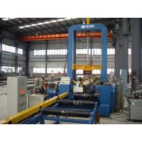 Buy cheap Automatic Hydraulic H-beam Assembling Machine Motor With PLC System product