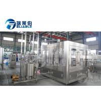 Buy cheap 8000BPH Automatic Bottling Machine Middle Scale Juice Making / Filling product