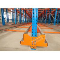Buy cheap High Density Storage Racks Radio Shuttle Racking Adjustable Baseplate Type 50 Meters Per Min product