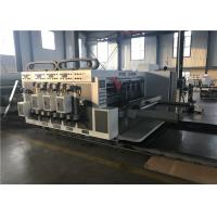 Reliable Corrugated Carton Machine / Die Cutting Machine Lead Edge Feeder Type