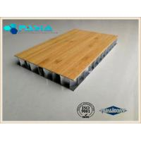 Buy cheap Noise Proof Heat Insulated Aluminum Honeycomb Core Panels For Decoration Industries product