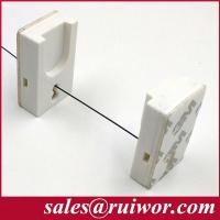 Buy cheap RUIWOR RW0017 Adhesive Magnetic ABS Holder work with Anti Theft Pull Box / Retractable Security Tether / Cable Recoiler product