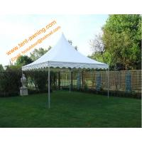 Buy cheap High Peak Pole Tent, fireproof PVC, 3x3m, 4x4m, 5x5m, 6x6m, Rental  Tent product