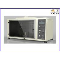 Buy cheap UL 94 Vertical And Horizontal Flammability Tester With Flame Height 20 ± 2mm product